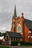 Church. A church on a cloudy day Royalty Free Stock Photo
