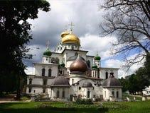 Church. New Jerusalim monastery. 17th century. Moscow region stock image