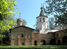 Church. In city Great Novgorod Stock Images