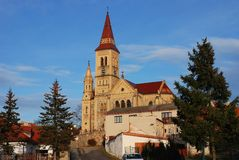Church. Village church in Hosin, Czech Republic Stock Photography