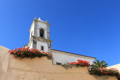Church. In Sines small village from Portugal Stock Images