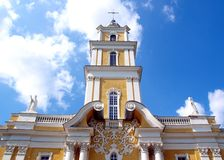 Church. In summer. Lithuania, Panevezys Stock Image
