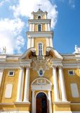 Church. In summer. Lithuania, Panevezys Royalty Free Stock Photography