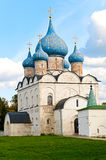 Church. Cathedral of the Nativity in Suzdal Kremlin, Russia Stock Images