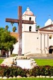 Church. Historic Old Mission Santa Barbara, California Royalty Free Stock Image