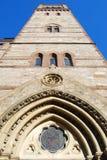 Church. Detail of a church in Boston, Massachusetts Stock Photo