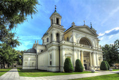 Church. Of Saint Anne in Wilanow, Warsaw, Poland Royalty Free Stock Photography