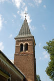 Church. Garsene Evangelical Lutheran Church, Latvia royalty free stock photos