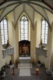 In the church. Interior view of the church Royalty Free Stock Photo