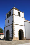 Portuguese Church tower Royalty Free Stock Images