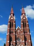 Church. St. Jacob Catholic Church in Sveksna, Lithuania Royalty Free Stock Photography