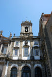 Church. Exteriors of St. Francisco Church in Oporto (Portugal Royalty Free Stock Photo