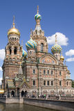 Church. Orthodox Church of Resurrection in St.Petersburg, Russia stock photography