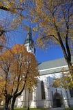 Church in Spisska Nova Ves, Slovakia. Historical Church in Spisska Nova Ves, Slovakia royalty free stock photos