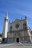 Church. Old catholic church in Montecchio Maggiore, Italy Stock Photography
