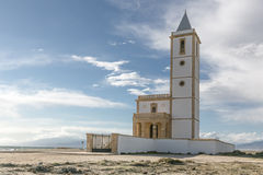 Church. Is an old church in a fishing village stock photography