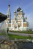 Church. Russia. Novosibirsk. church Stock Images