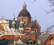 Church. A church in Cracovia Poland royalty free stock photography
