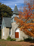 Church. In the Baltimore county, near Timonium, Maryland Royalty Free Stock Image