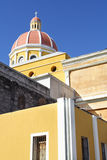 Church. In Granada Nicaragua. Abstract Angles. Shot with canon 350d and 17-40mm L lens Stock Photo