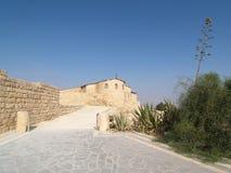 Church. On mountain NEBO (Jordan Royalty Free Stock Photo