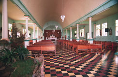Church 4. Old catholic church in Costa Rica Stock Image