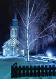 Church_ 4 di Hønefoss Fotografia Stock Libera da Diritti