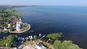 The Church of the 40 martyrs of Sebaste in Pereslavl-Zalessky ci Stock Photos