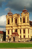 Church. Old beautiful church in Timisoara Royalty Free Stock Photos