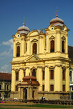 Church. Old beautiful church in Timisoara Stock Photos