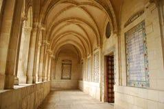 Church. Corridor in the Jerusalem church Stock Photography