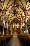 Church. Inside of a church (Lund, Sweden Royalty Free Stock Images