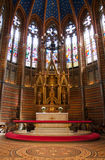 Church. Inside of a church (Lund, Sweden Royalty Free Stock Photos