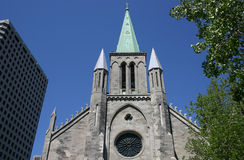 Church. An old church located in Montreal, Quebec stock image