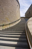 Church. Stairs of the St-Joseph Oratory in Montreal city Stock Image