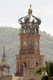 Church. Detail from Puerto Vallarta, Jalisco, Mexico Royalty Free Stock Photography