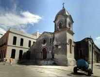 Church. Old catholic church in Havana Stock Photo