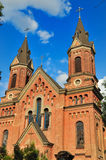 Church. Cathedral, Catholic cathedral in the city of Nikolaev, Ukraine Royalty Free Stock Image
