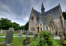 Church. Taken in Loch Lomond, Scotland Royalty Free Stock Image