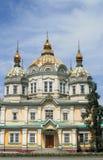 Church. In Almaty city (Kazakhstan Royalty Free Stock Photos