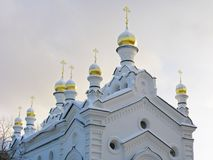 Church. Christian church. Russia.  Tomsk Royalty Free Stock Images