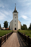 Church. St. John's Lutheran Church (Jaanikirik) in Viljandi, Estonia Stock Photo