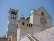 Church. In Assisi Royalty Free Stock Photo