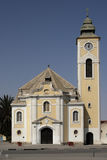 Church. Old Church in Swakopmund, Namibia stock photography
