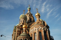 Church. Orthodox Church of Resurrection in St.Petersburg Royalty Free Stock Images