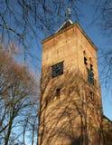 Church. Of Noorddijk, Holland, in the wintersun Stock Images