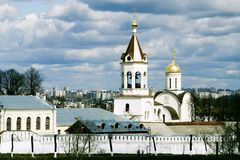 Church. Orthodox Rogdestvensky cathedral in Vladimir (Russia Royalty Free Stock Photo