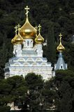 Church. A russian orthodox church on the mount of olives in Israel stock photos