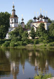 Church. Dmitry Priluzky Church in Vologda (Russia royalty free stock photo