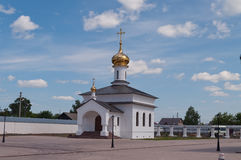 Church in Abalak Znamenski Monastery. Siberia. Rus Stock Photos